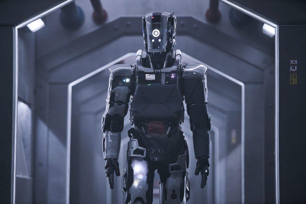 Der Roboter überzeugt mit seinem Design I Am Mother © 2019 Concorde Filmverleih GmbH