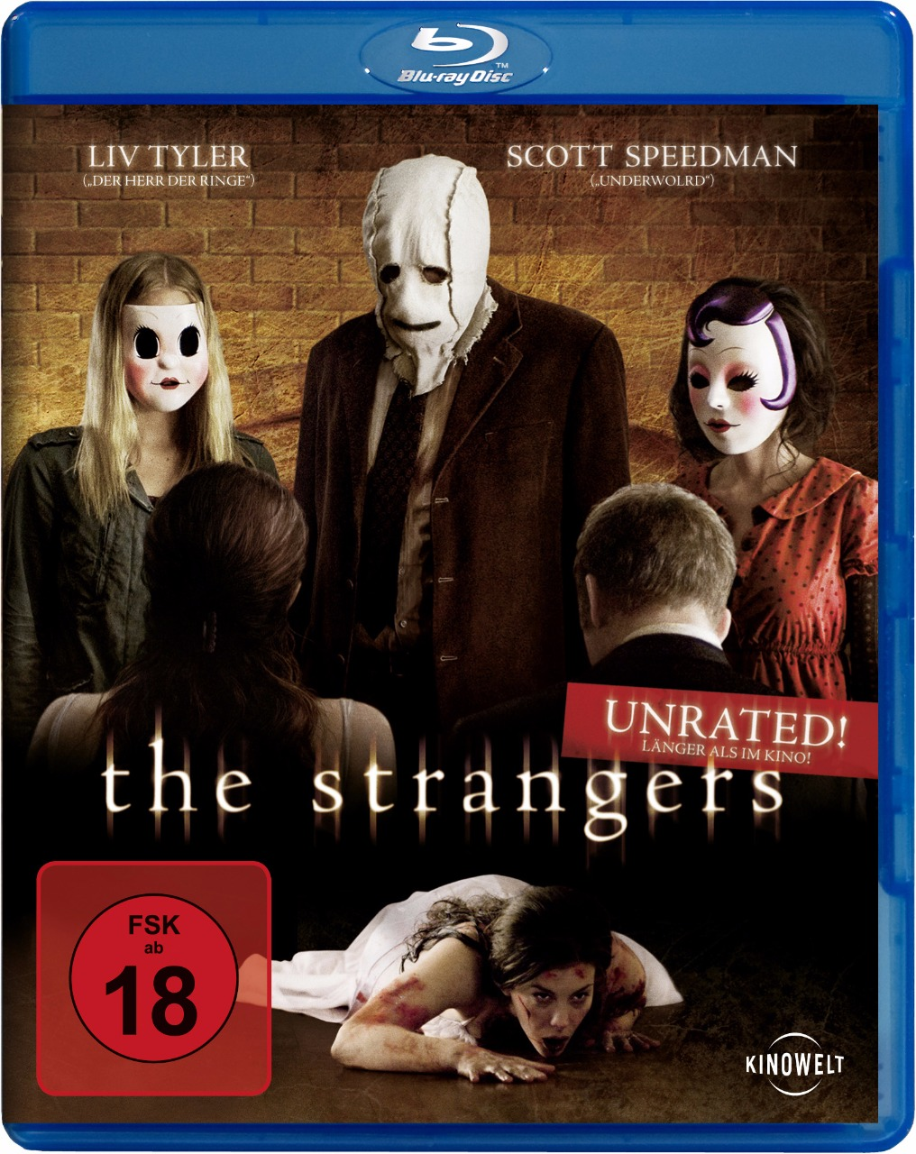 The Strangers ist als FSK18-Version ungeschnitten erschienen. (©Studiocanal Home Entertainment)