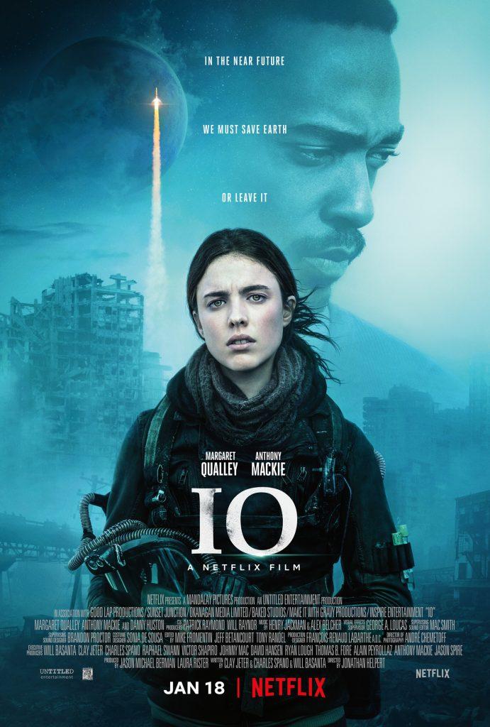 Das offizielle Poster von IO. © Netflix