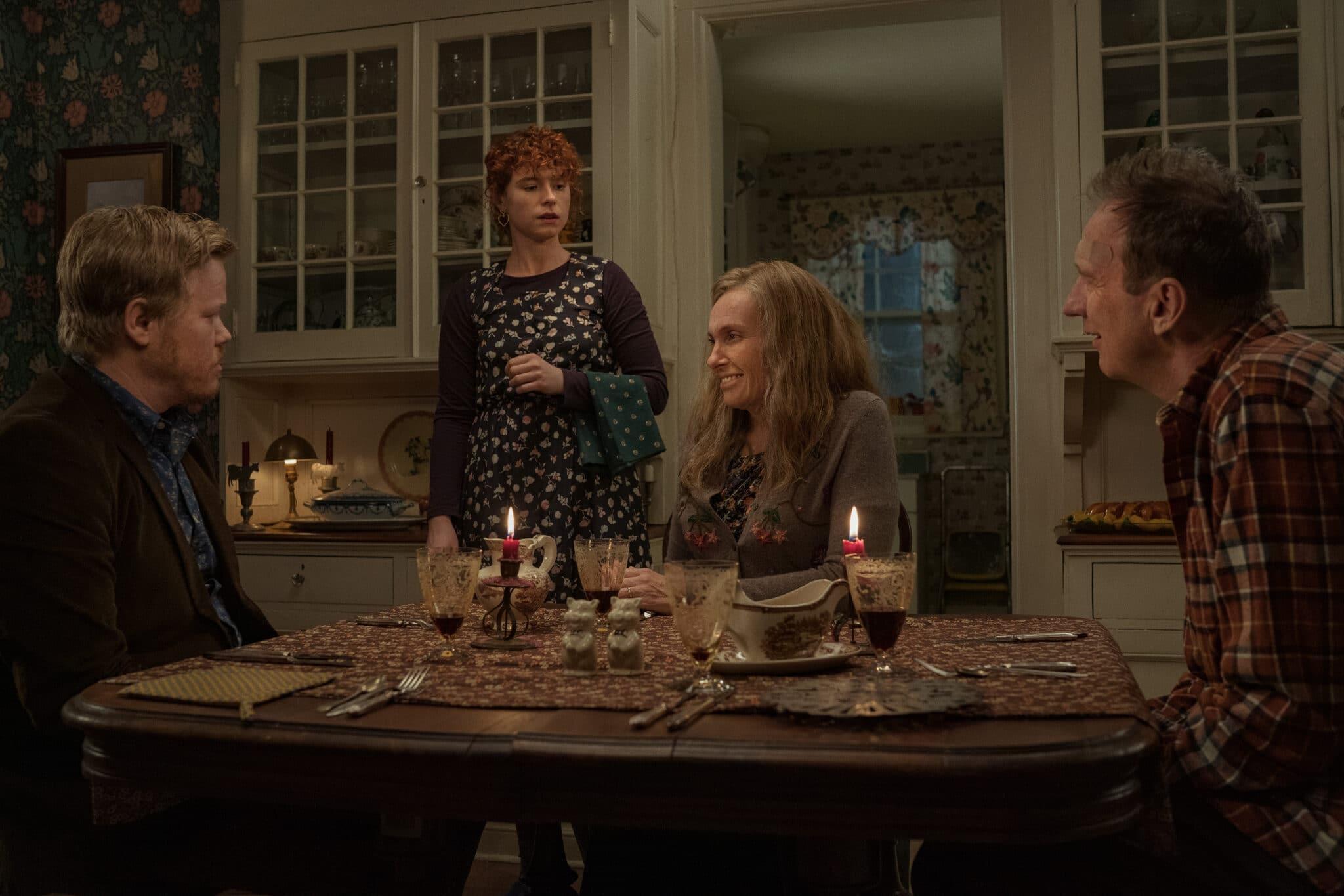 Ein Abendessen mit den Eltern in I'm Thinking of Ending Things