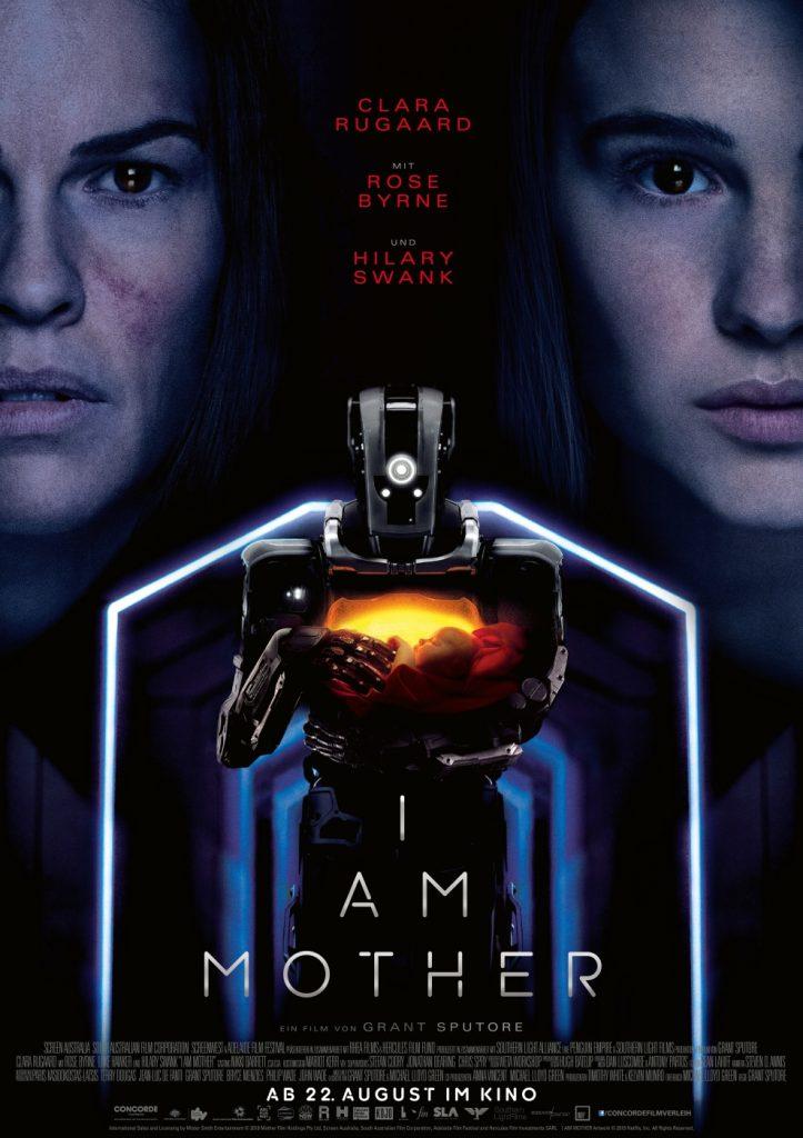 Cover zu I Am Mother © 2019 Concorde Filmverleih GmbH
