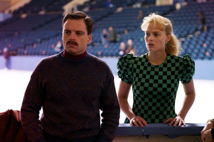 "Tony Harding (Magrot Robbie) und ihr Ehemann Jeff Gillooly (Sebastian Stan) in ""I, Tonya"" © DCM"