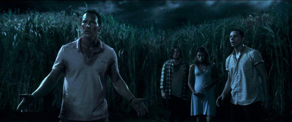 Patrick Wilson als Ross Humboldt, hier direkt vor dem hohen Gras