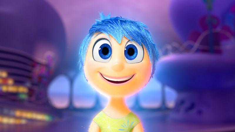 In Alles steht Kopf versucht Freude alles, um Riley glücklich zu sehen. ©Disney/Pixar 2015