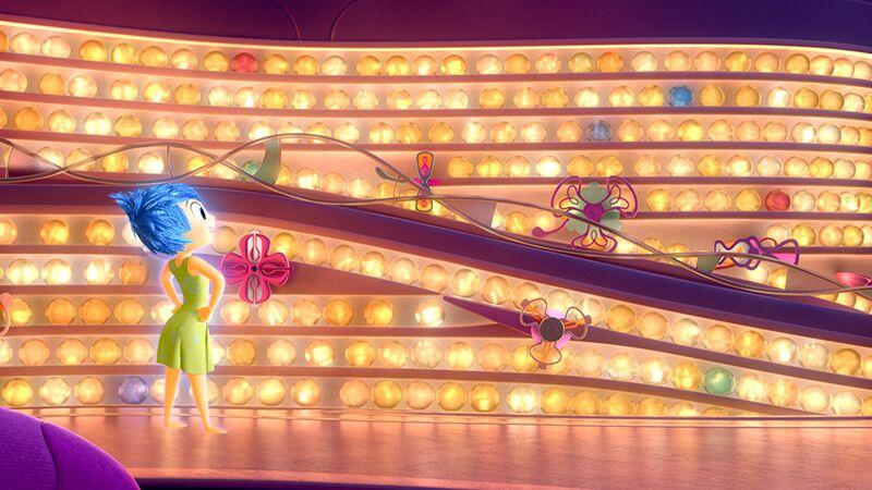 In Alles steht Kopf werden Rileys Gedanken durchleuchtet ©Disney/Pixar 2015
