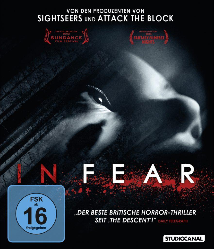 Das DVD Cover von In Fear. © Studiocanal Home Entertainment