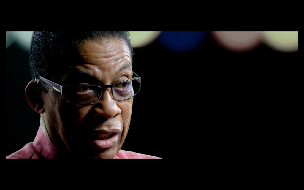 Herbie Hancock im Interview für It Must Schwing - The Blue Note Story.