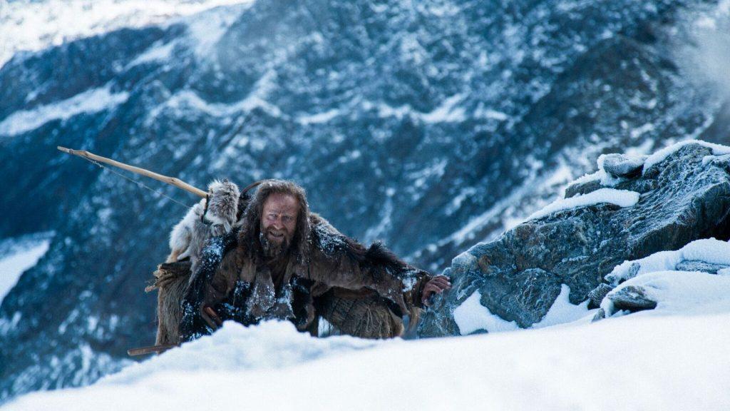 """Jürgen Vogel erklimmt in """"Der Mann aus dem Eis"""" einen schneebedeckten Berg © Ascot Elite Home Entertainment"""