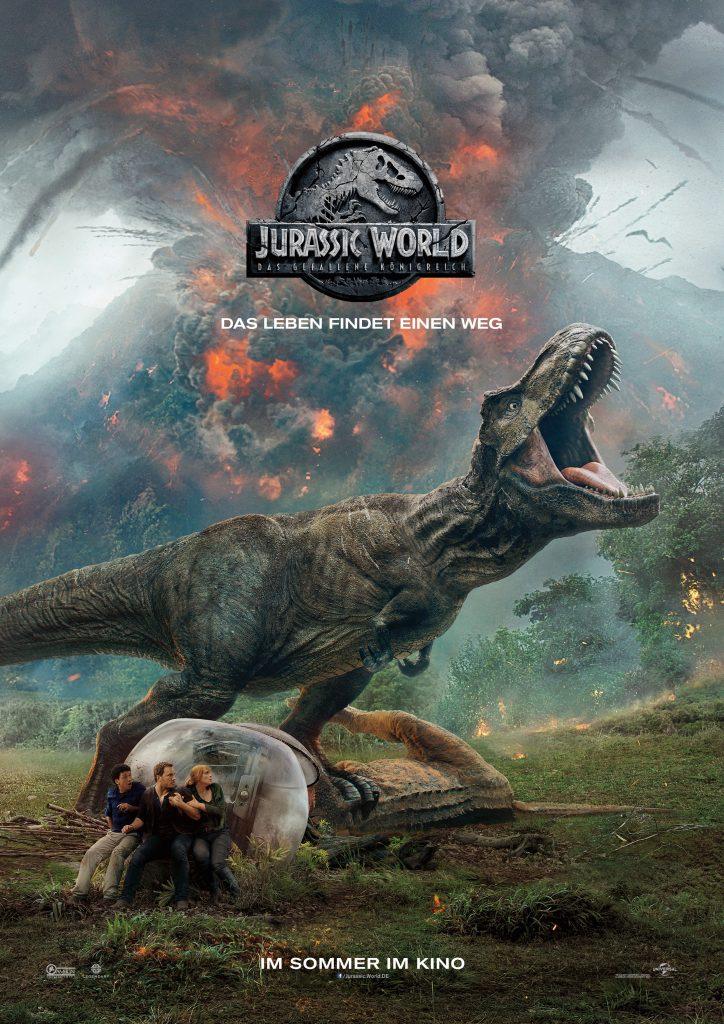 """Filmplakat zu """"Jurassic World: Das gefallene Königreich"""" © Universal Pictures"""
