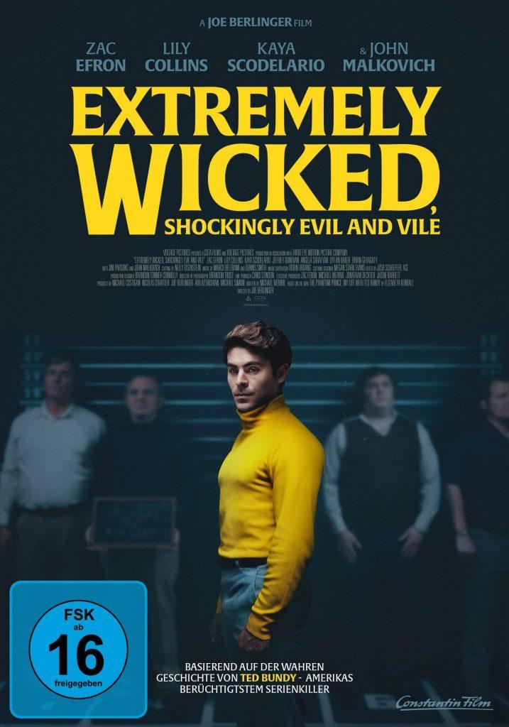 "Offizielles Poster zu ""Extremely Wicked, Shockingly Evil and Vile"", erhältlich auf DVD & Blu-ray (© Constantin Film)"