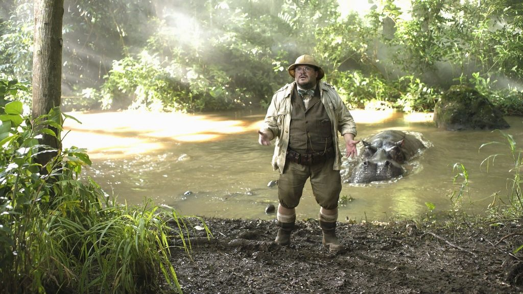 Jack Black in Jumanji - Willkommen im Dschungel ©2017 Columbia Pictures Industries, Inc. All Rights Reserved.