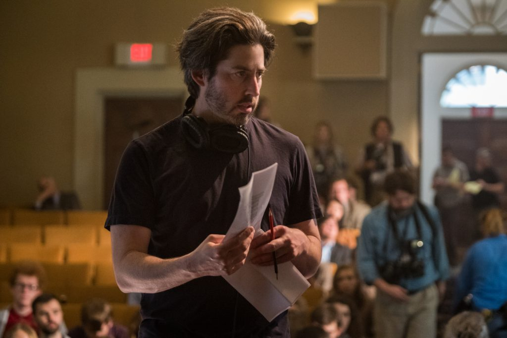 Regisseur Jason Reitman am Set von Der Spitzenkandidat © 2018 Sony Pictures Entertainment GmbH