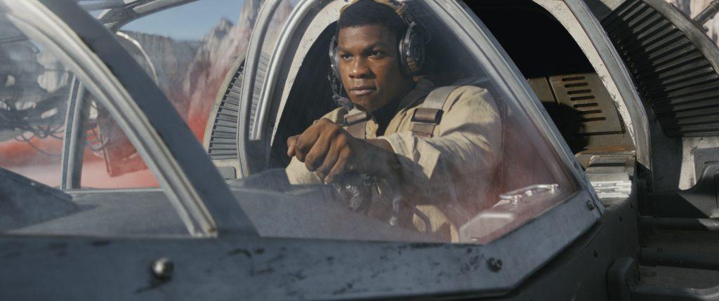 John Boyega in Star Wars - Die letzten Jedi von 2017