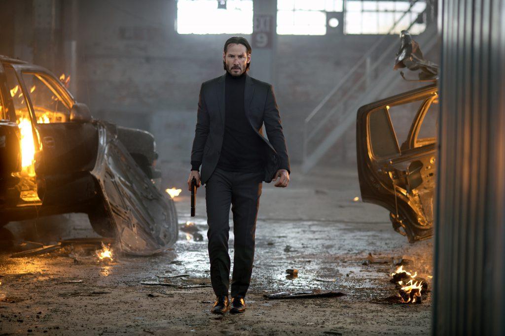 """John Wick (Keanu Reeves) nach erledigter Arbeit. Quelle: DVD & Bluray zu """"John Wick"""", © Studiocanal Home Entertainment"""