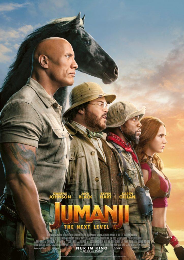 Kinoposter zu Jumanji: The Next Level