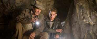 Harrison Ford als Indiana Jones und Shia LaBeouf als Mutt Williams