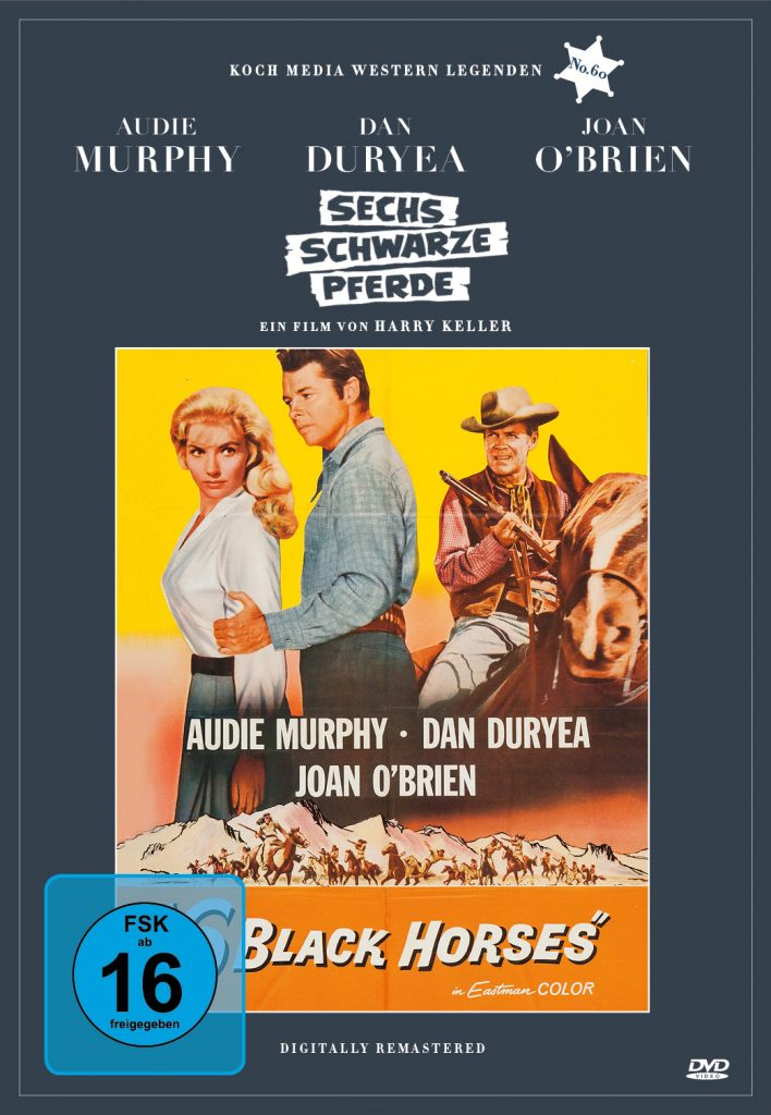 "Das DVD-Cover zu ""Sechs Schwarze Pferde"" ©Koch Films"