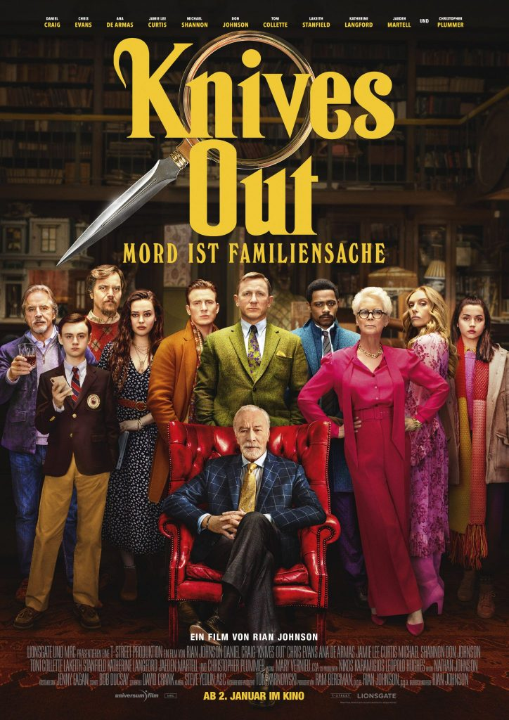 Das Filmplakat zu Knives Out