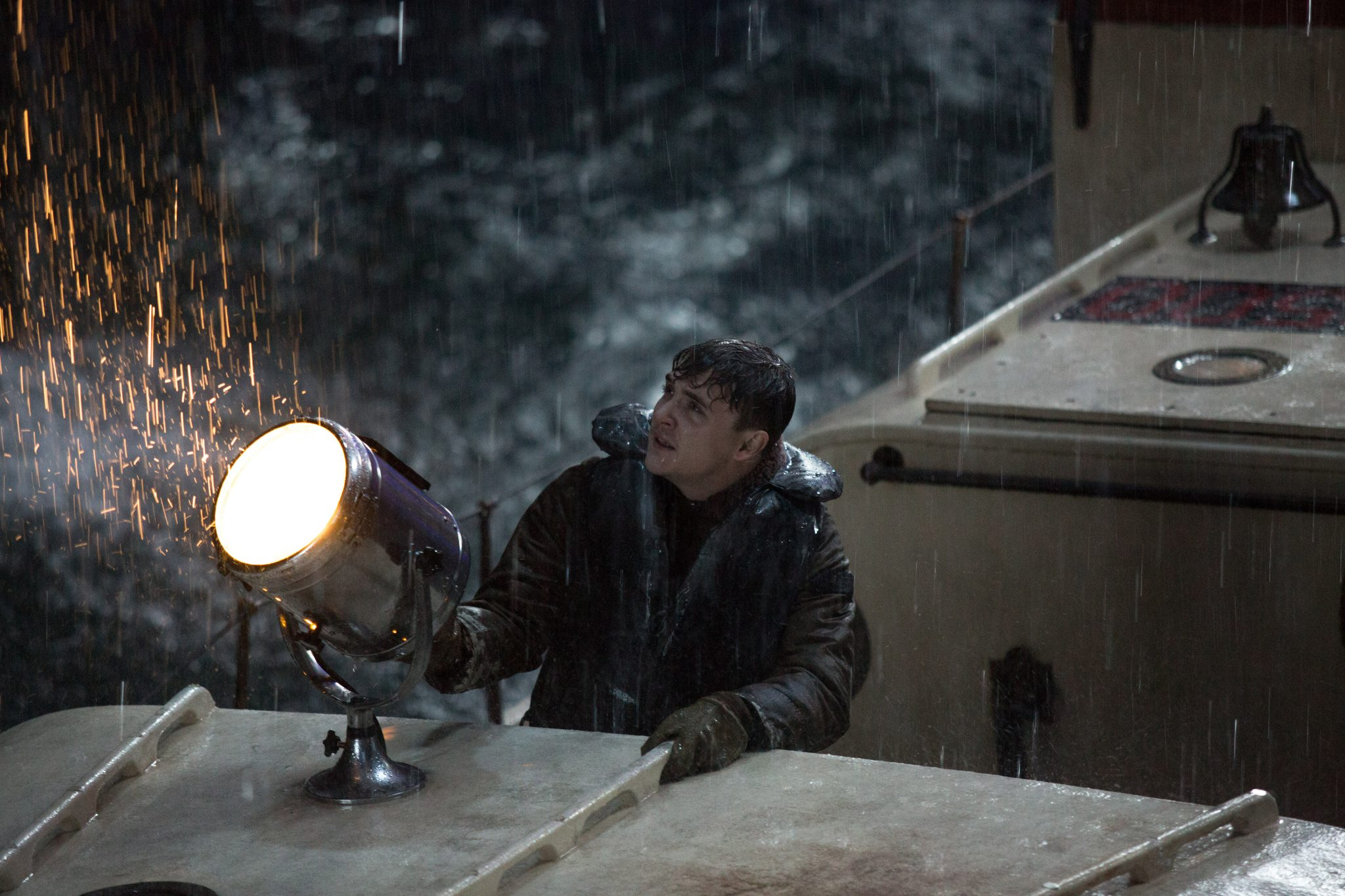 Kyle Gallner is Andy Fitzgerald in Disney's THE FINEST HOURS. ©Disney Enterprises, Inc. All Rights Reserved.