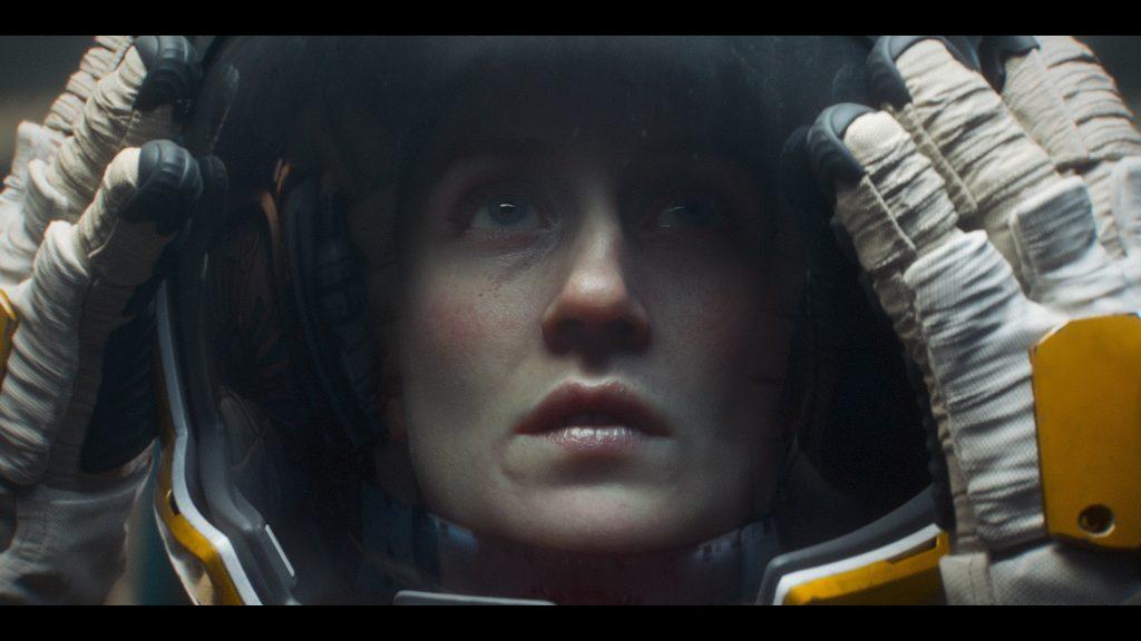 Noch ahnt sie nicht, was gleich passieren wird. Love, Death + Robots © Netflix