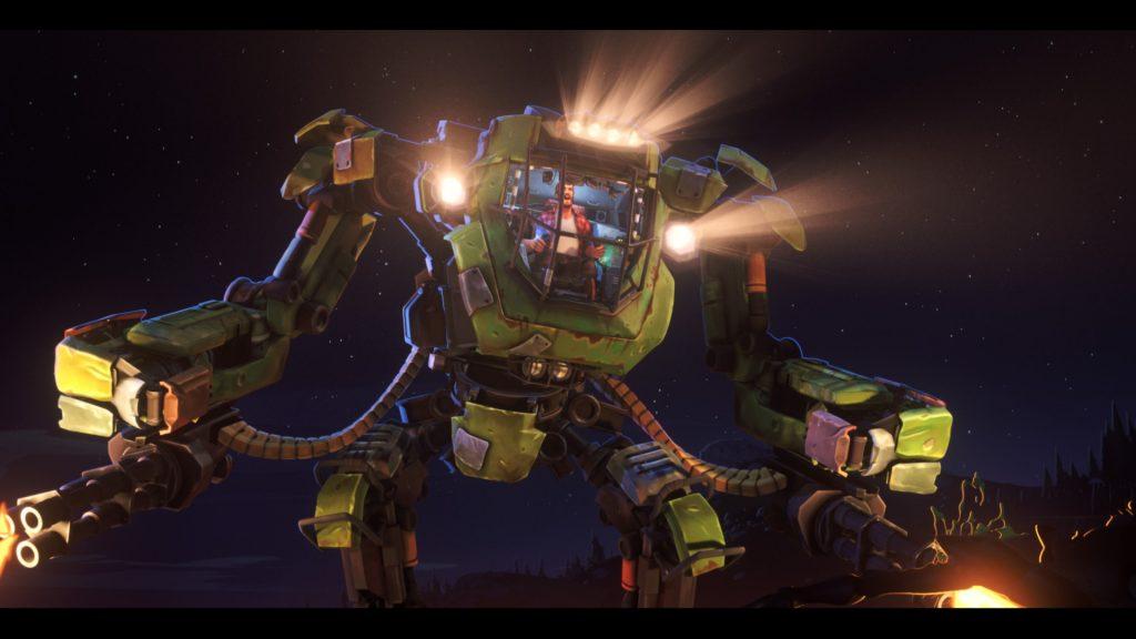 Einer der Mechs in Love, Death + Robots. © Netflix