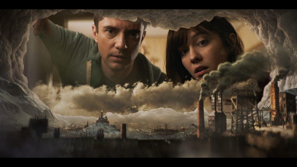 Eine Zivilisation im Gefrierschrank in Love, Death + Robots. © Netflix