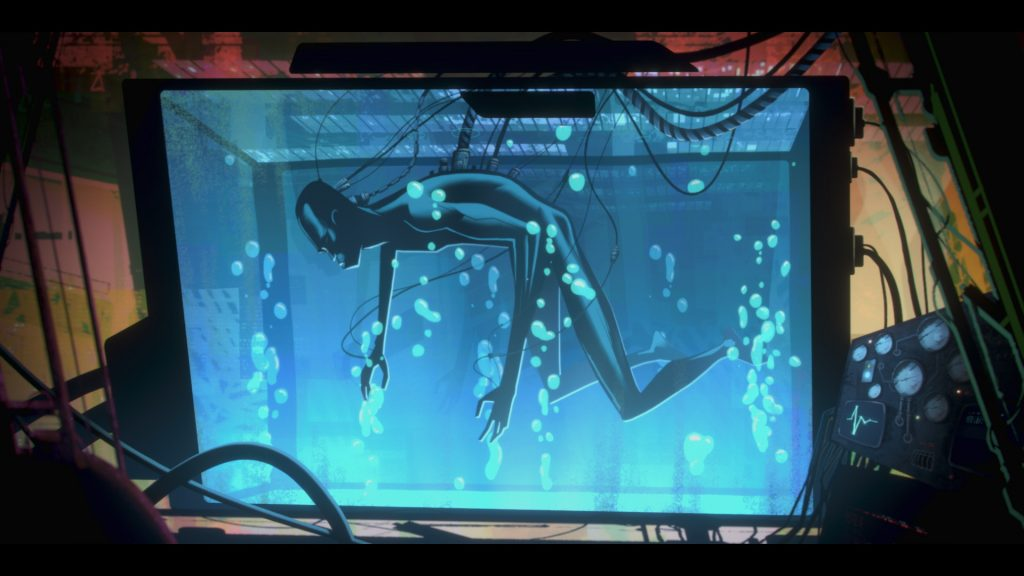 Zima in Love, Death + Robots. © Netflix