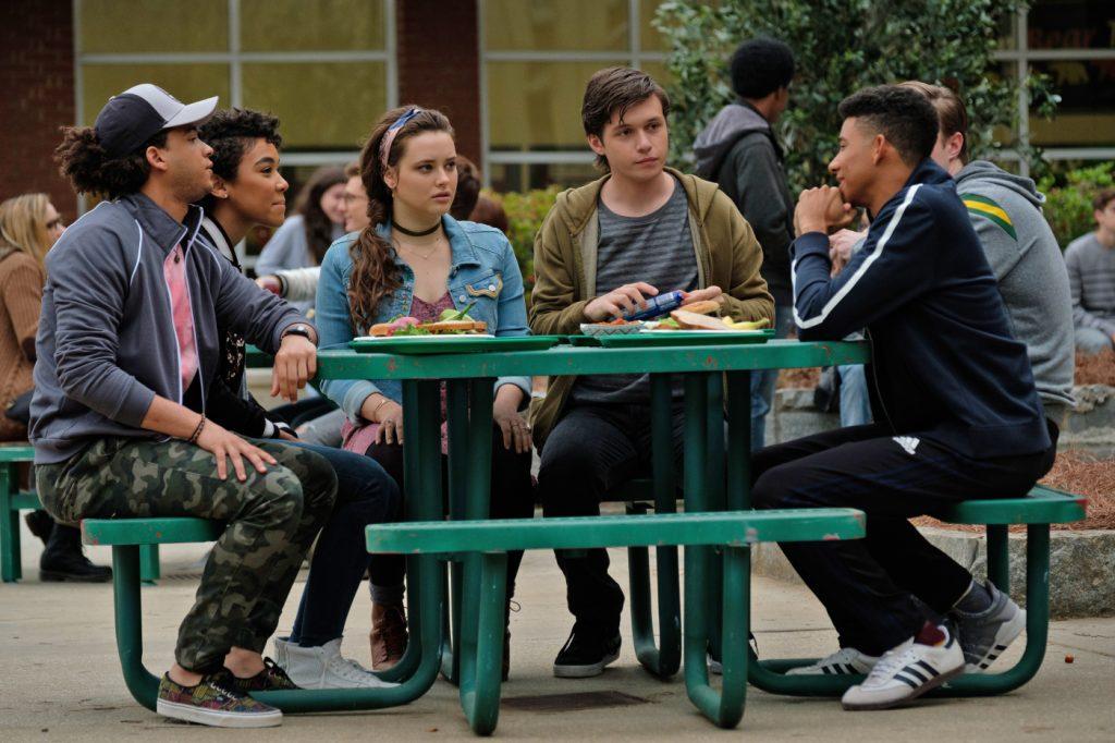 Simon mit seinen Freunden Abby, Nick und Leah © 2017 Twentieth Century Fox