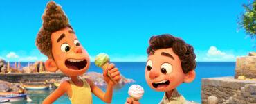 Luca und Alberto essen zum ersten Mal ein Eis und entdecken neue kulinarische Gebiete.