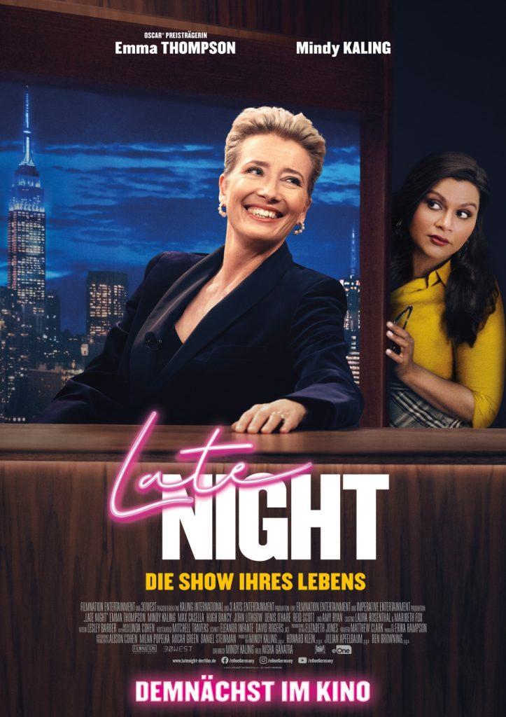Das deutsche Poster zu Late Night - Die Show ihres Lebens