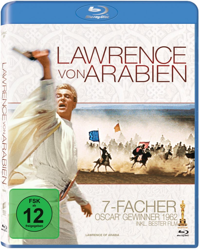 Blu-ray-Cover zu Lawrence von Arabien