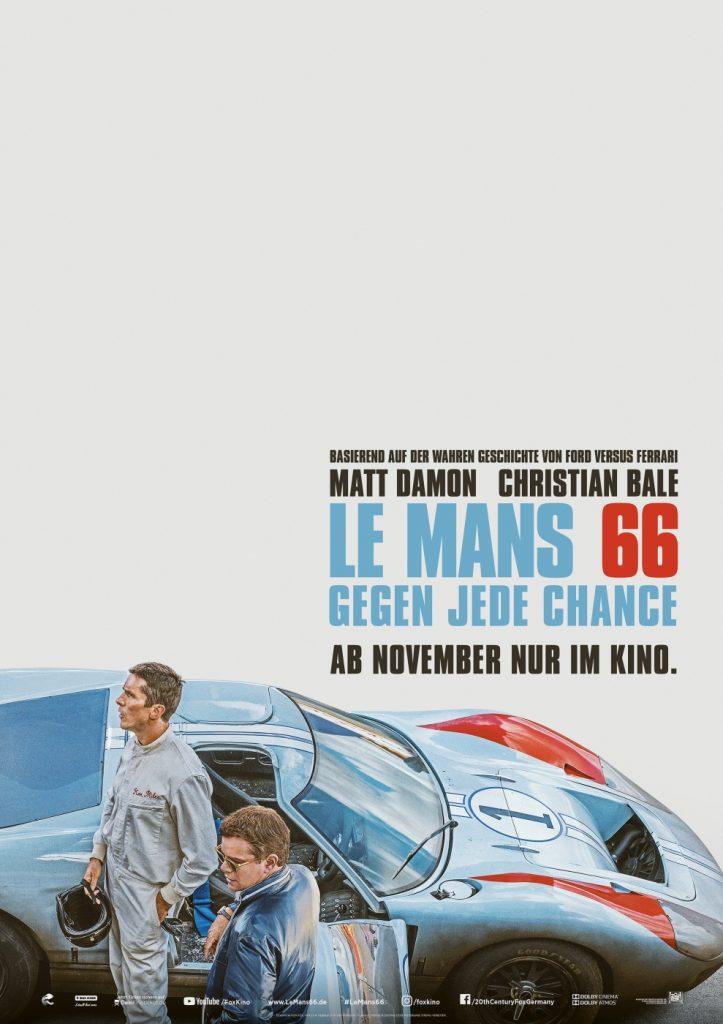 Offizielles Poster zu Le Mans 66: Gegen jede Chance