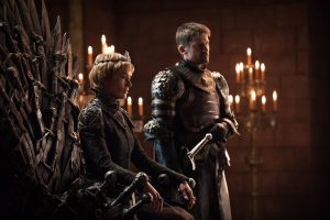 Lena Headey und Nicolaj Coster-Waldau in Game of Thrones Staffel 7 aus 2017