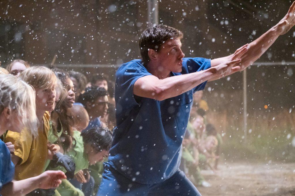 Liam Stewart (Harris Dickinson) setzt seine Kräfte ein, um den anderen zur Flucht zu verhelfen ©20th Century Fox