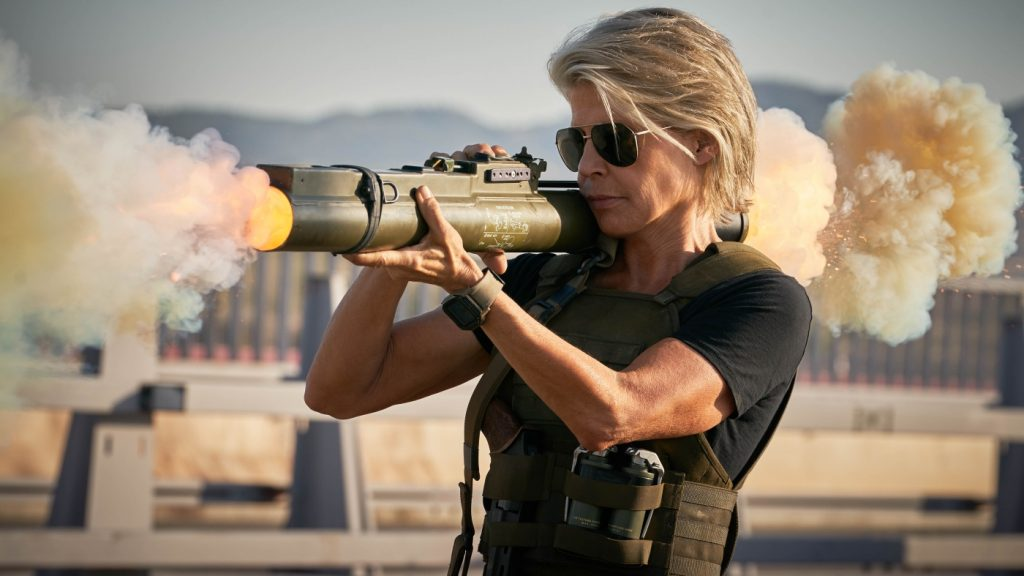 Linda Hamilton kehrt in ihre Paraderolle als Sarah Connor zurück © 2019 Twentieth Century Fox