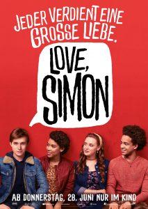 """Offizielles Filmplakat zu """"Love, Simon"""" © 20th Century Fox"""
