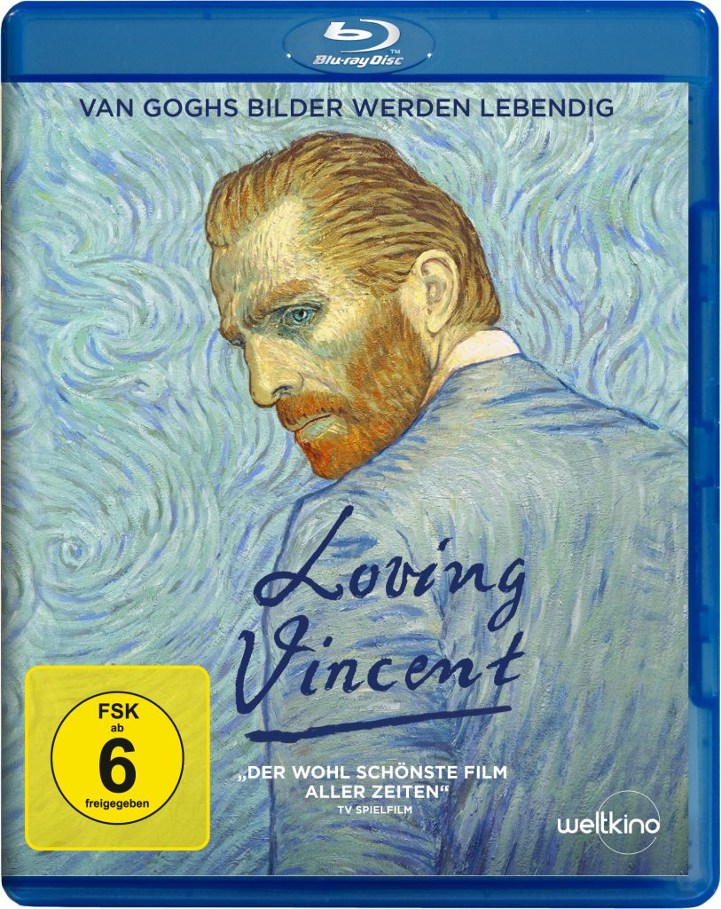 "Blu-ray Cover von ""Loving Vincent"" © Weltkino"