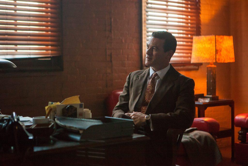 Luke Evans als Dr. William Marston in Professor Marston and the Wonder Woman
