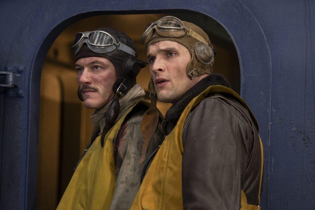 Luke Evans und Ed Skrein als Piloten in Midway - Für die Freiheit © 2019 Universum Film