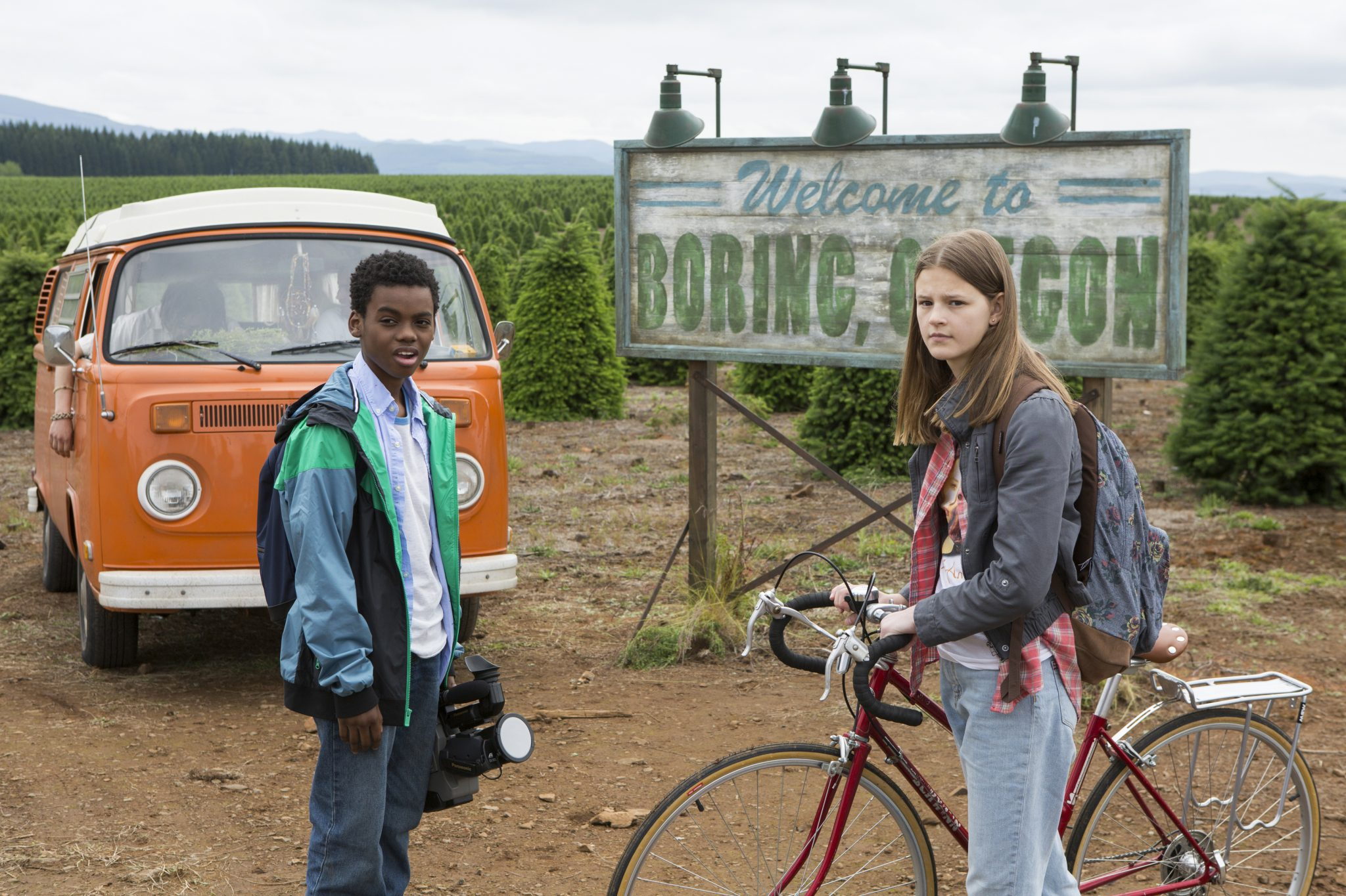Peyton Kennedy und Jahi Di'Allo Winston in Boring, Oregon ©Netflix