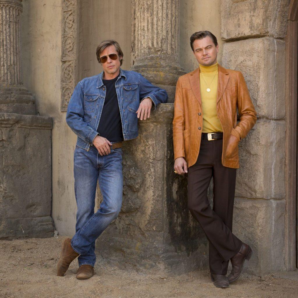 Brad Pitt und Leonardo DiCaprio am Set von Once Upon A Time In Hollywood © 2018 Sony Pictures Entertainment Deutschland GmbH