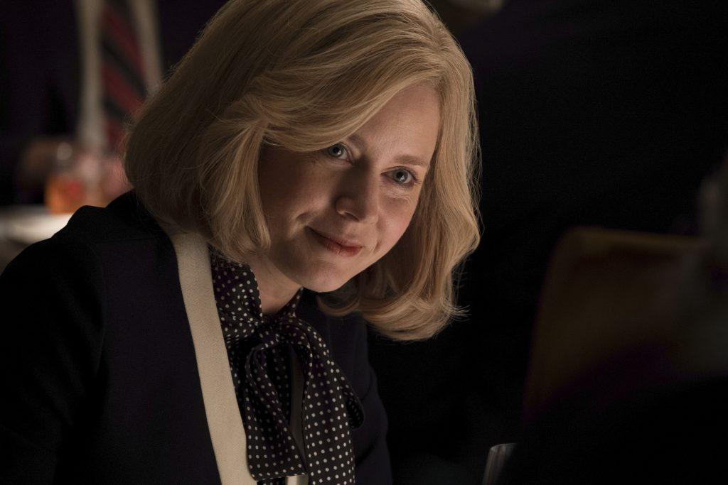 Lynne Cheney (Amy Adams) unterstützt ihren Mann so gut sie kann in Vice - Der zweite Mann @ 2018 Universum Film