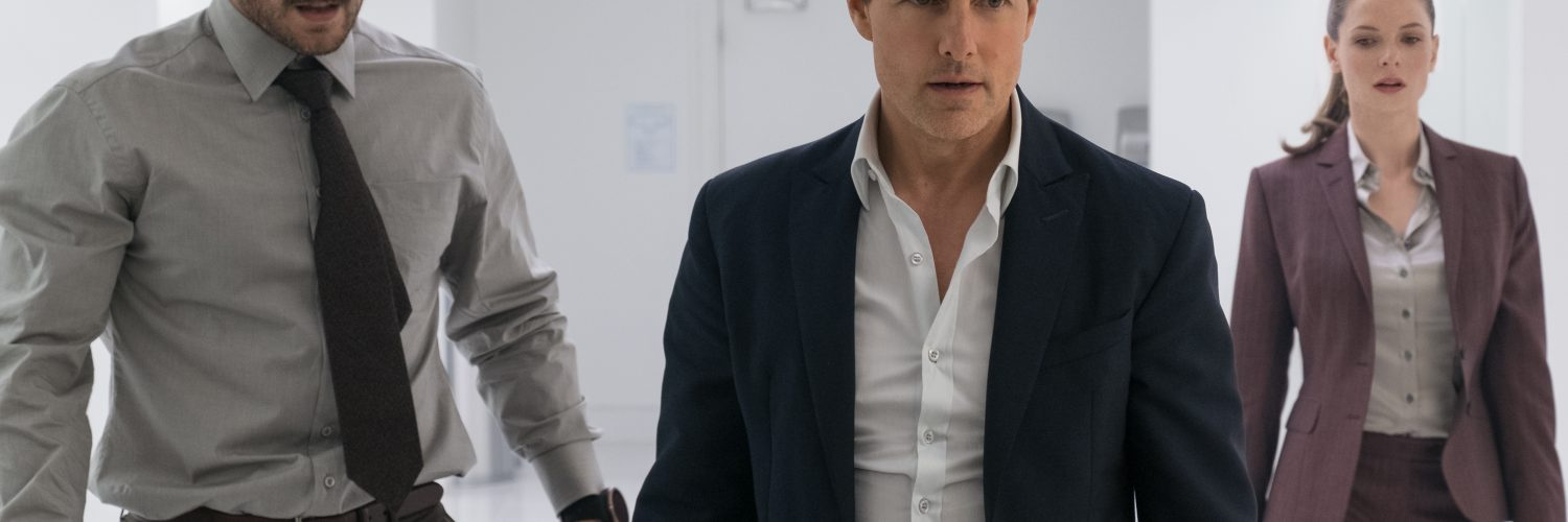 "Henry Cavill als ""August Walker"", Tom Cruise als ""Ethan Hunt"" und Rebecca Ferguson als ""Ilsa Faust"" in MISSION: IMPOSSIBLE - FALLOUT © Paramount Pictures"