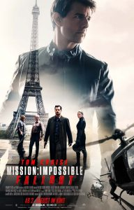 """Filmplakat zu """"Mission: Impossible - Fallout"""" © Paramount Pictures"""