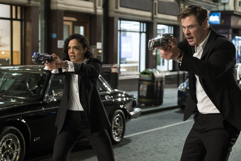 Die Agenten M und H in MIB: International © 2019 Sony Pictures Entertainment Deutschland GmbH