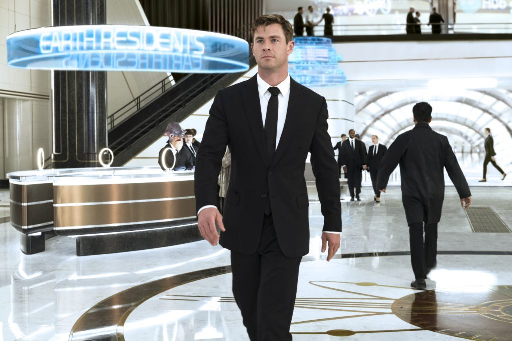 Chris Hemsworth in MIB: International © 2019 Sony Pictures Entertainment Deutschland GmbH