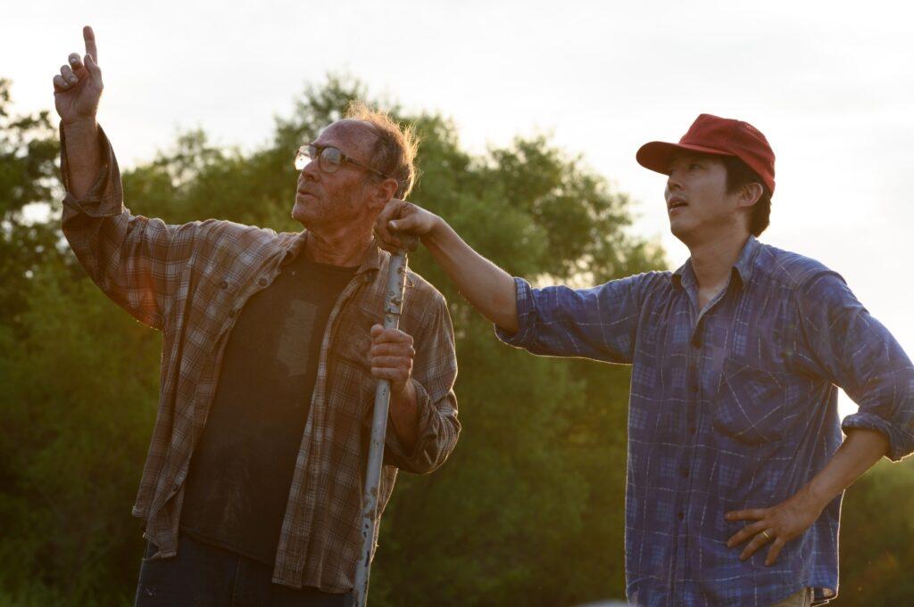 Paul und Jacob bei der Arbeit auf der Farm [bitte ein klein wenig genauer beschreiben, was die beiden gerade tun]