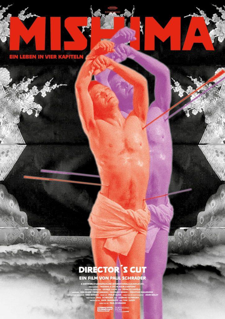 Alternatives Plakat von Mishima - Ein Leben in vier Kapiteln