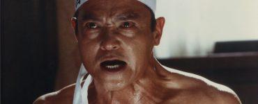 Yukio Mishima mit traditioneller Stirnbinde
