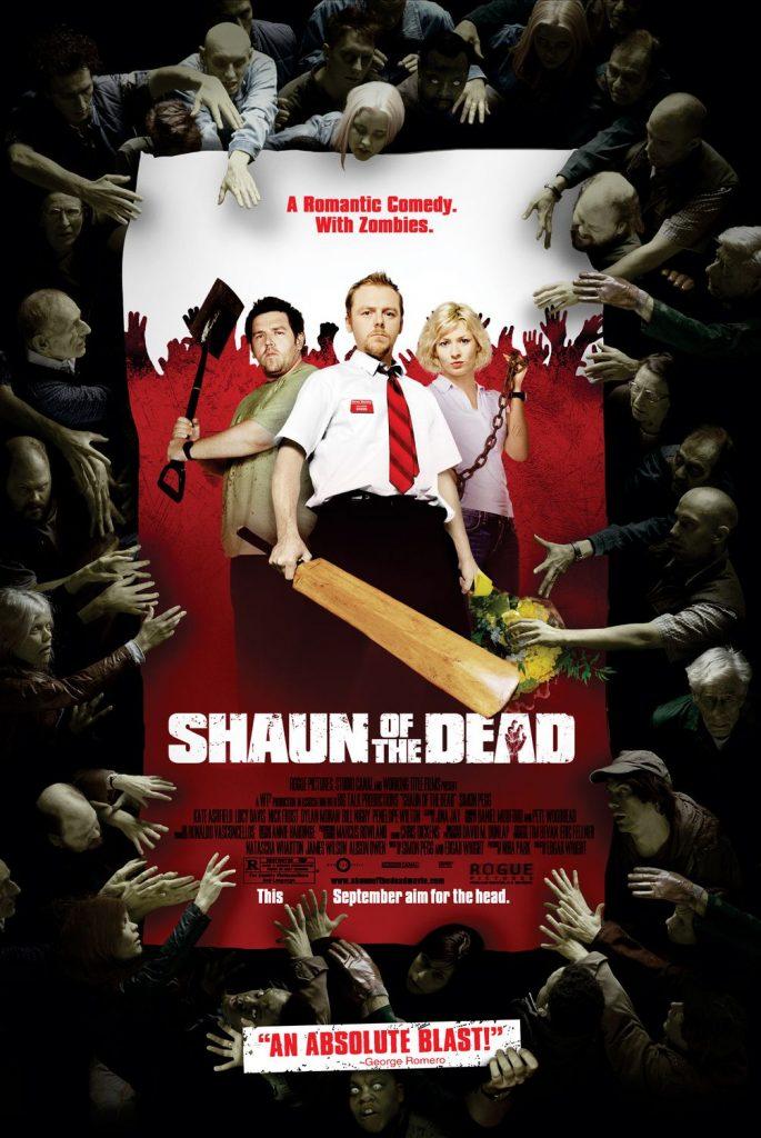 """Plakat zu Shaun Of The Dead. """"Shaun Of The Dead"""", auf Blu-Ray und DVD erhältlich (© Universal Pictures)"""